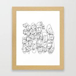 DigiLeroy 01 Framed Art Print