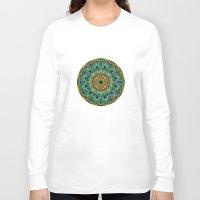 kaleidoscope Long Sleeve T-shirts featuring Kaleidoscope by Klara Acel