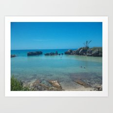 Bermuda Beach 2 Art Print