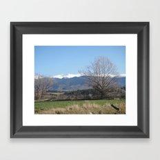 Pyrenees - Spain Framed Art Print