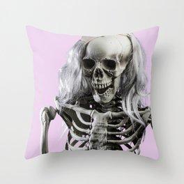 My Girl Jenny Throw Pillow
