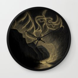 Arrival of the Gods Wall Clock