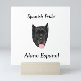 Alano Espanol Mini Art Print