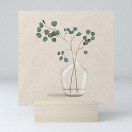 Silver Dollar Eucalyptus Mini Art Print