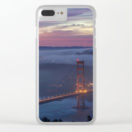 Morning Colors of SF Clear iPhone Case