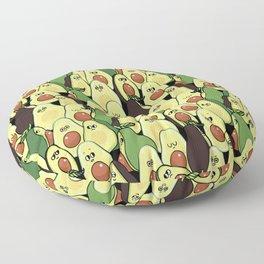 Social Avocados Floor Pillow
