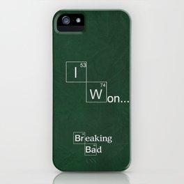 I Won iPhone Case
