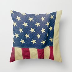 Ye Olde Flag Throw Pillow