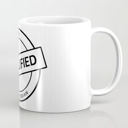 Qualified Lesbian (black) Coffee Mug