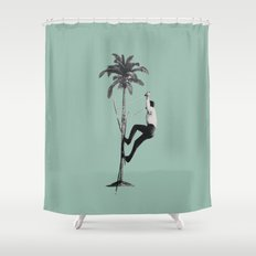 Off-piste Shower Curtain