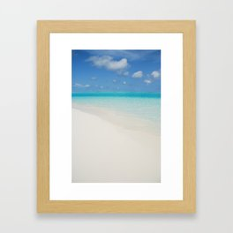 Maldives Framed Art Print