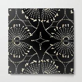 Noir Tapestry Metal Print