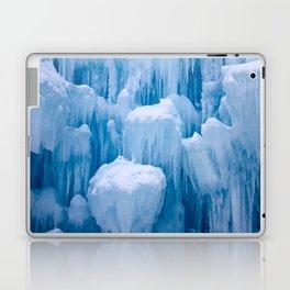 Beautiful Blue Icicles Laptop & iPad Skin