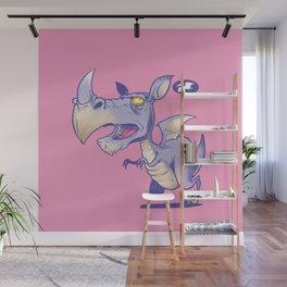T Rhinosaurus Rex Wall Mural