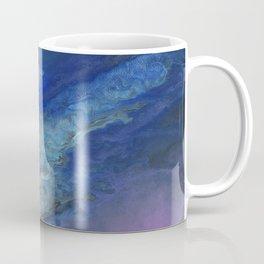 Galaxy Burst - Fluid Acrylic Painting PRINT Coffee Mug