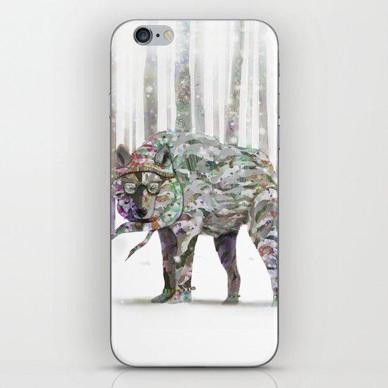 Winter Wonder Dog iPhone Skin