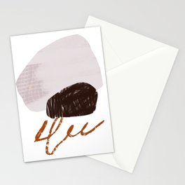 Abstract Desert 10 Mid Century Modern Inspired Stationery Cards