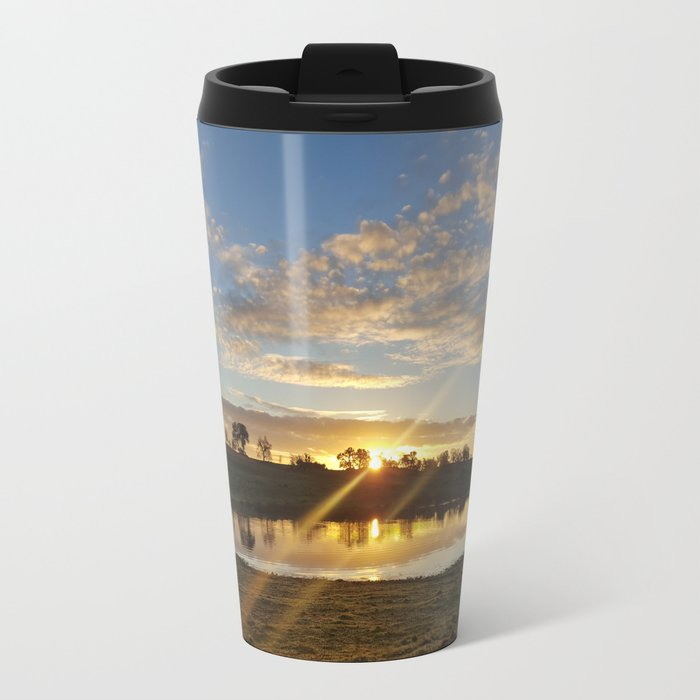 Inbetween Country and Paradise Travel Mug