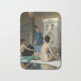 "Jean-Léon Gérôme ""After the Bath"" Bath Mat"