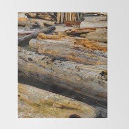 Driven Driftwood Throw Blanket