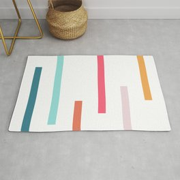 Lines Of Levels Rug