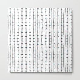 Abstract ladders Metal Print