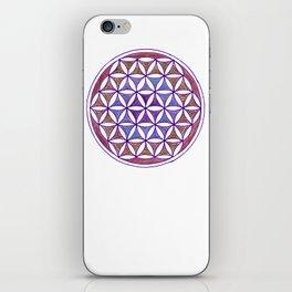 Flower of Life - quiet mandala iPhone Skin