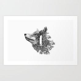 Fox Type Nº1 Art Print