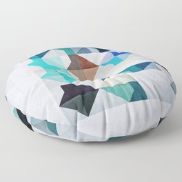 0051 // Whyyt1 Floor Pillow