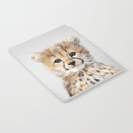 Baby Cheetah - Colorful Notebook