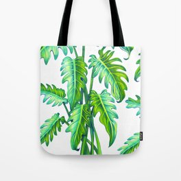 Philodendron Xanadu Tote Bag