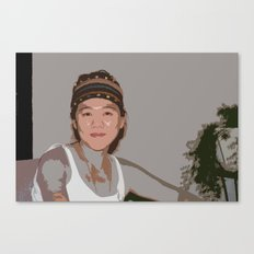 China Girl Canvas Print