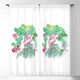 Nasty Woman Blackout Curtain