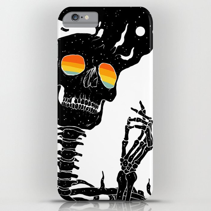 One with the Universe (Existential Diffusion) iPhone Case