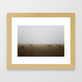 Misty Harvest Framed Art Print