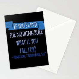 AARON BURR, SIR | HAMILTON Stationery Cards