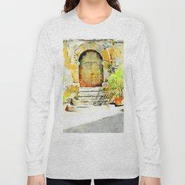Door of the church Tortora Long Sleeve T-shirt