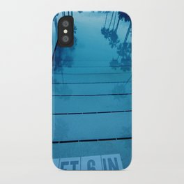 Poolside, Miami.  iPhone Case