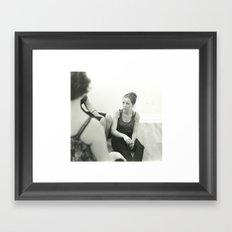Untitled Portrait 1 Framed Art Print