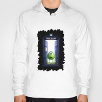 monster inc Hoodies featuring Tardis Monster inc by DavinciArt