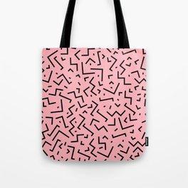 Memphis pattern 34 Tote Bag