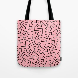 Memphis pattern 34 Tote Bag