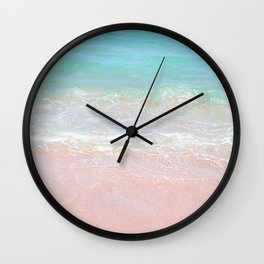 Beach shoreline | Waves Wall Clock