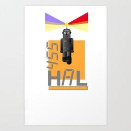 Hal Art Print