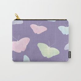 UltraViolet Butterflies Carry-All Pouch