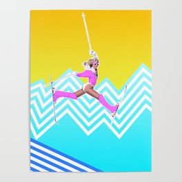 Ski like it's 1989 Poster