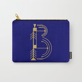Sacred Geometry Letter B Carry-All Pouch