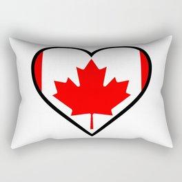 Love Canada Rectangular Pillow