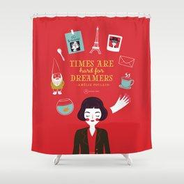 Amélie Poulain Shower Curtain