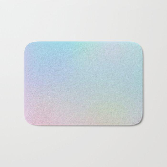 Pastel Gradient Bath Mat